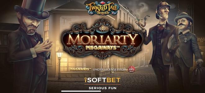 iSoftBet : la machine à sous la plus attendue de 2021, Moriarty Megaways, est enfin là !