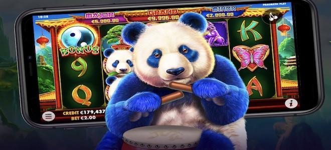 Machine à sous Panda's Fortune 2 :  l'adorable panda géant de Pragmatic Play fait son retour !