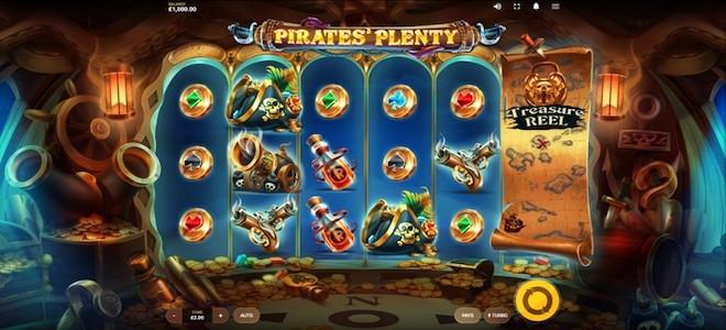 Pirates' Plenty MegaWays : Recherchez des trésors dans la nouvelle machine à sous de Red Tiger