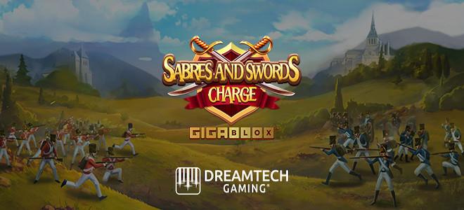 Yggdrasil s'associe à Dreamtech et propose une nouvelle machine à sous : Sabres and Swords: Charge Gigablox