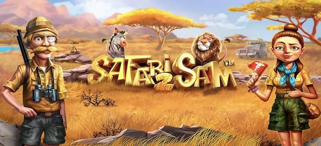Safari Sam 2 : libérez la bête sauvage qui sommeille en vous dès aujourd'hui sur les casinos Betsoft !