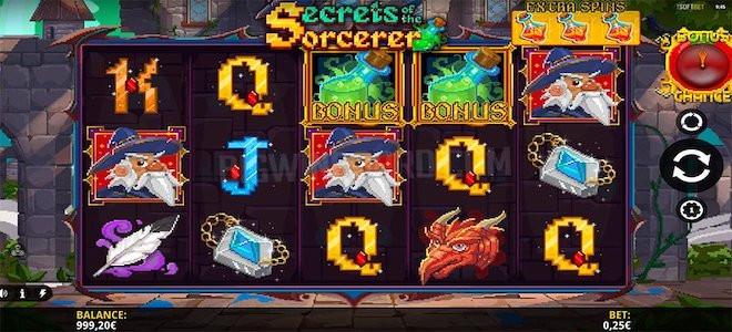 Rejoignez un drôle d'alchimiste dans la nouvelle machine à sous Secrets of the Sorcerer d'iSoftBet