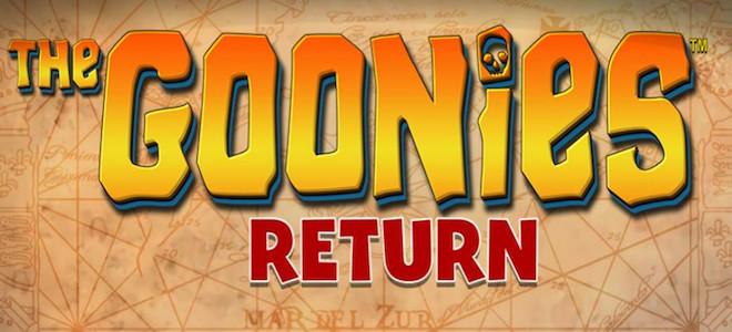 Blueprint Gaming dévoile sa nouvelle machine à sous en ligne The Goonies Return