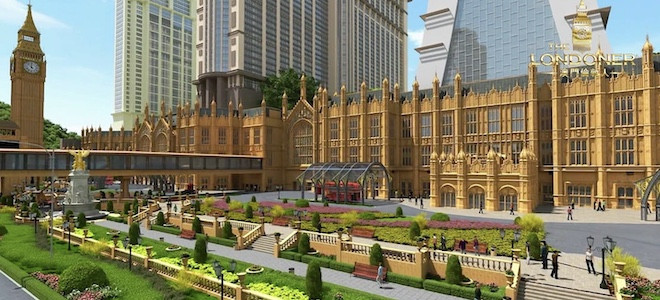 The Londoner : le nouveau casino de Macau pour 2021, malgré la crise du COVID