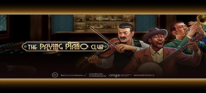 Play'n Go chatouille l'ivoire avec sa nouvelle machine à sous vidéo The Paying Piano Club