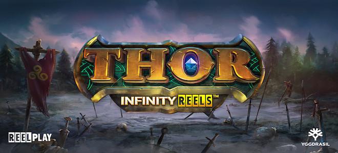 La machine à sous Thor Infinity Reels d'Yggdrasil est dans les bacs, et elle envoie du lourd !