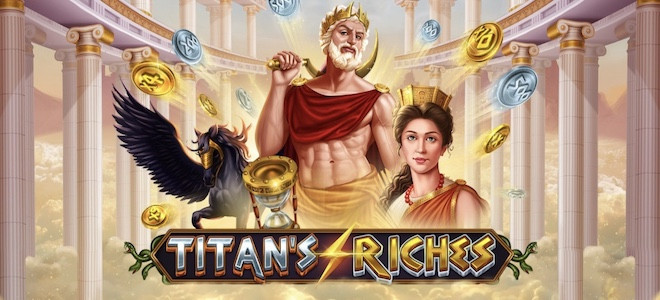 Pariplay lance sa machine à sous Titan's Riches, un concentré d'action et de gros gains !