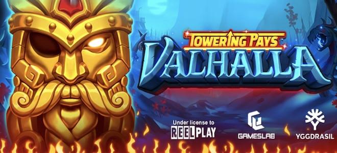 Yggdrasil lance Towering Pays Valhalla, une machine à sous élaborée en partenariat avec ReelPlay