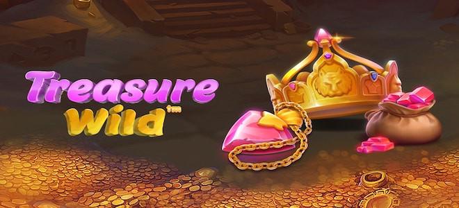 Découvrez un repaire secret englouti sous des pièces d'or dans Treasure Wild de Pragmatic Play
