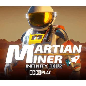 Martian Miner Infinity Reels : nouvelle machine à sous Yggdrasil dotée de la mécanique ReelPlay !