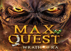 Le concept original du jeu de casino Max Quest: Wrath of Ra de Betsoft