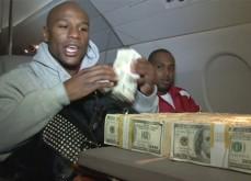 Floyd Mayweather et sa folie des paris sportifs: 1.8$ millions de gains en deux pa