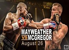 Quelques jours avant le choc des titans Mayweather / McGregor, les bookmakers tremblent
