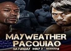 Las Vegas en ébullition avant le combat de boxe de la décennie: Mayweather-Pacquiao
