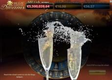 2015 commence chaudement avec un jackpot de 3.2€ millions sur Mega Fortune Dreams