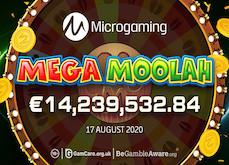 Microgaming : la machine à sous Mega Moolah fait encore des siennes avec un gain de 14,2 millions d'euros !