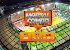 Un Mortal Combo étonnant sur Winamax ! 5 euros de paris pour 132.098 euros gagnés