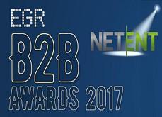 Netent met tout le monde d'accord avec trois nouvelles récompenses lors des EGR B2B Awards