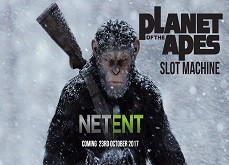 Premières informations sur la machine à sous Planet of the Apes de Netent