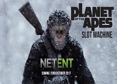 Premières informations sur la machine à sous Planet of the Apes de Netent