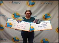 Elle remporte deux jackpots de tickets à gratter en une seule semaine