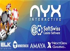 Les casinos en ligne SoftSwiss disposent désormais des jeux Nyx Gaming