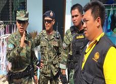 Tentative d'intimidation d'un général thaïlandais pris la main dans le sac