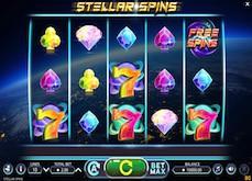 Machine à sous Stellar Spins : pluie d'étoiles filantes et de gains sur vos écrans !
