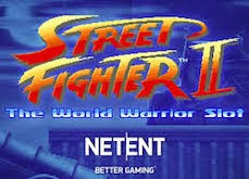 Street Fighter II: The World Warrior, ça va castagner sur les casinos en ligne NetEnt !