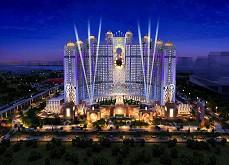 Le Studio City - projet de 3.2$ milliards de Macau - prend forme et ouvrira en octobre 2015