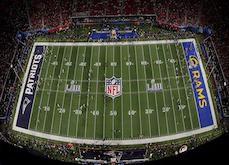 Un parieur inconnu - Bettor X - perd 3,8$ millions sur la finale du Super Bowl 53 !