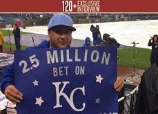 2.5$ millions remportés grâce à un pari sportif très osé à Las Vegas