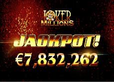 Jackpot record de 7,8€ millions sur la slot Joker Millions !