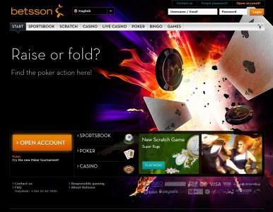 Betsson rejoint le réseau de poker Microgaming