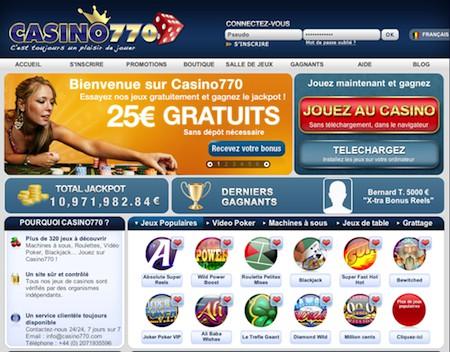 Le Casino770 est-il légal pour les Français ?