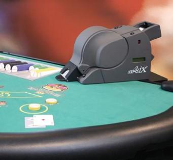 Les mélangeurs de cartes au BlackJack au Casino