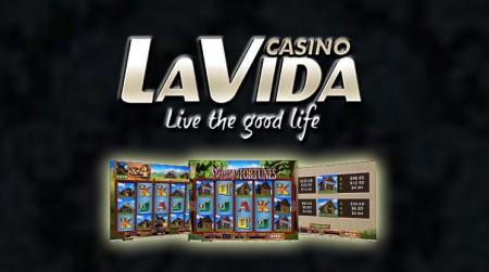 Générosité du casino en ligne la Vida - Près de 4 millions gagnés depuis début Mai