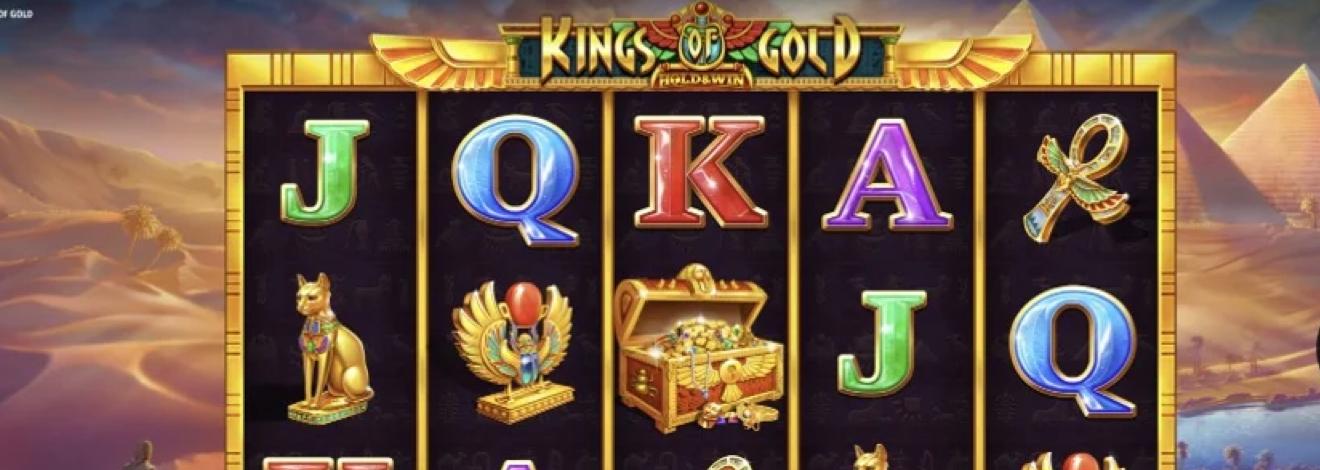 iSoftBet vous transporte dans le monde des pharaons avec Kings of Gold
