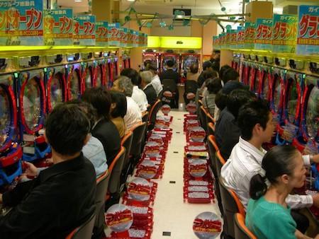 Pachinko, les machines à sous Japonaises