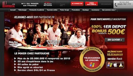 Les Casinos Partouche redressent la barre en 2012