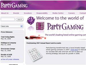 PartyGaming en bonne forme grâce au casino