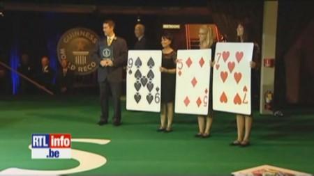 Record du monde de la plus grande table de blackjack