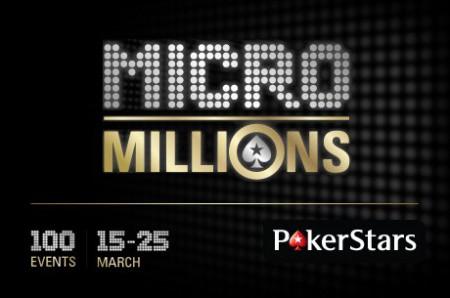 Pokerstars.com prêt à lancer sa nouvelle promotion MicroMillions
