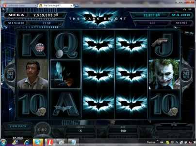 Enorme jackpot de machines à sous - 2.5 millions sur Batman The Dark Knight