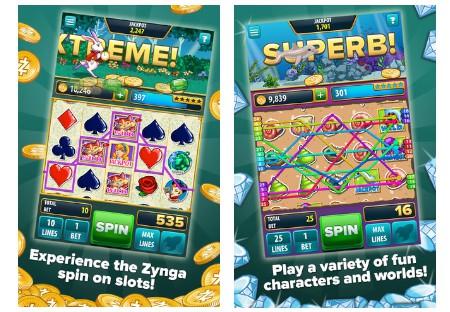 ZYNGA SLOTS : de nouveaux jeux de casino Zynga