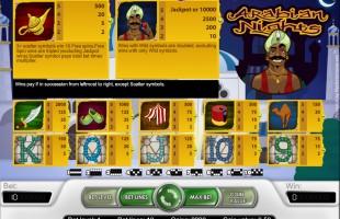 aperçu jeu Arabian Nights 2