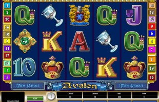 Machine à sous Avalon gratuit dans Microgaming casino