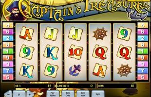 aperçu jeu Captain's Treasure 1