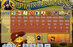aperçu jeu Captain's Treasure 2