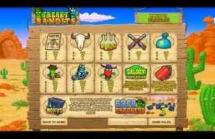 aperçu jeu Freaky Bandits 2